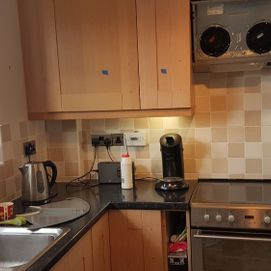 a customers finished kitchen